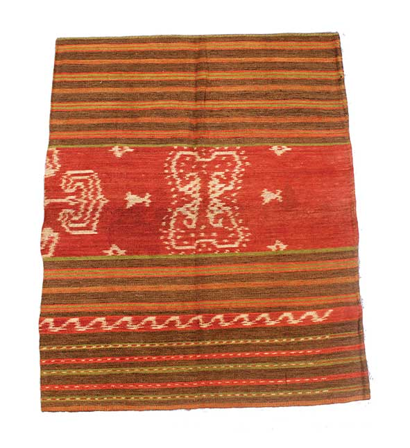 A Sumba cloth Habak Pattern with symbol of kingdom