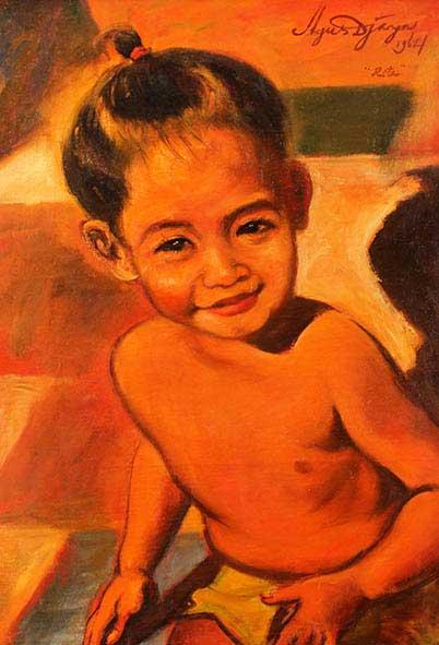 """Balinese child """"RITA"""""""