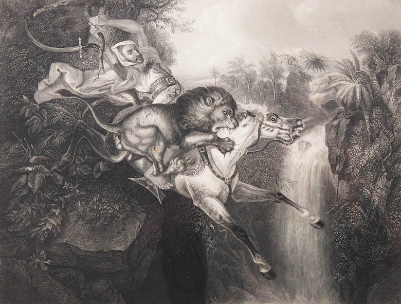 After Raden Saleh, Albert Henry Payne