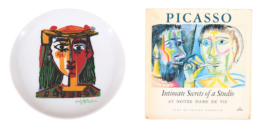 Picasso Book and Plate Limeted Edition